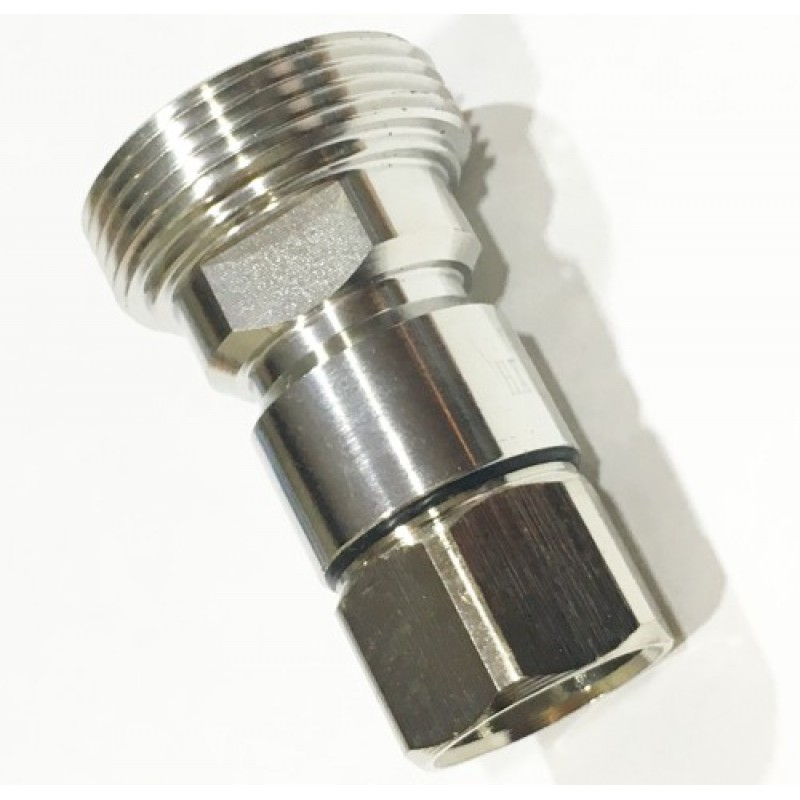 Conector 7/16 DIN Hembra recto para cable de 1/2.