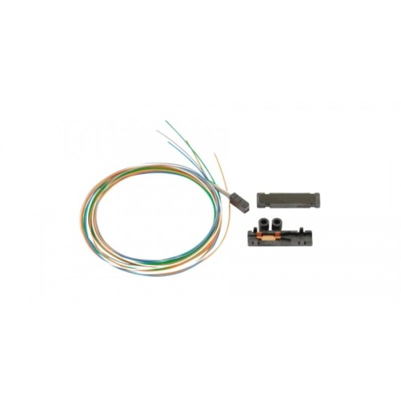 Kit de desprendimiento para un haz de tubos sueltos de hasta seis fibras de 250 µm a tubos de 900 µm