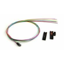 Kit de desprendimiento, 12 fibras con 36 pulgadas 900 µm de tubos amortiguadores