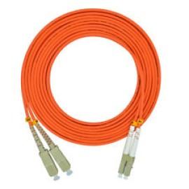 Patch Cord de conexión dúplex FiberExpress, SC-Duplex-SC-Duplex, Belden.