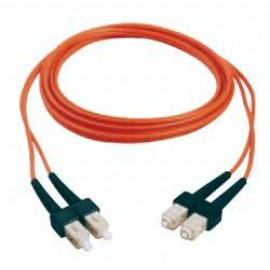 Patch Cord de conexión dúplex FiberExpress, ST-LC-Duplex, Belden.