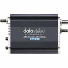 Embebedor de audio analógico de 2 canales Datavideo 3G / HD / SD-SDI