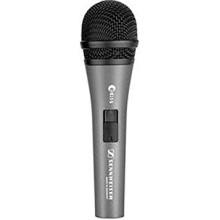 Micrófono vocal dinámico de mano cardioide con interruptor de encendido / apagado Sennheiser E815S