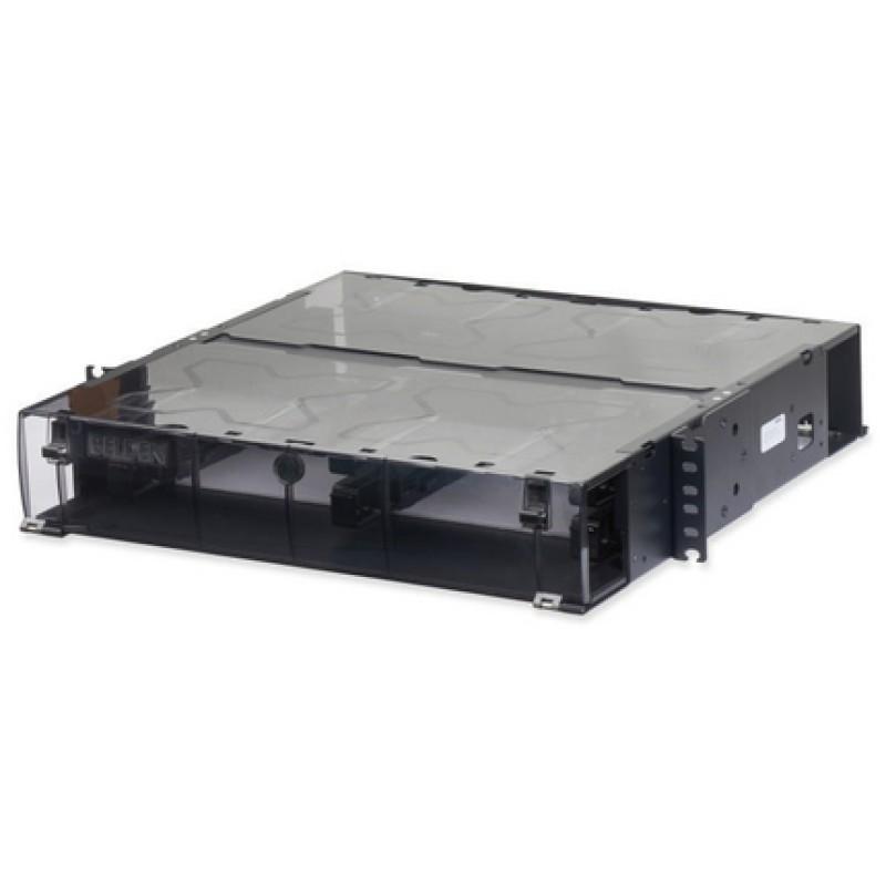 Paneles de conexión de fibra de LAN de 2U