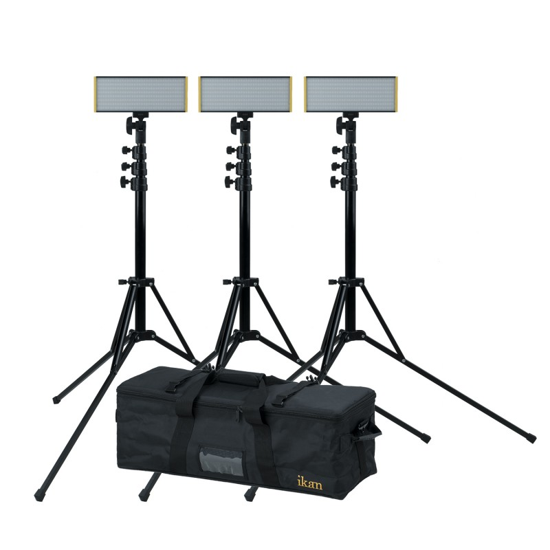ikan Onyx Half x 1 bicolor de 3 puntos de luz LED Kit