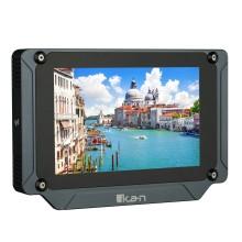 "ikan Saga SX7 Monitor de campo 3G-SDI / HDMI de alto brillo de 7 ""con LUTs y alcances 3D"