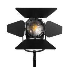"ikan White Star WS-F100 4 ""Luz de día Fresnel 100W LED Light"